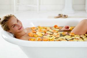 Целюліт розчиняється у ванні