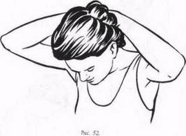 Вправа 7 - нахили голови, сидячи