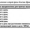 3.4. Комбінована терапія преднізолоном і. 5-аміносалі-ціловой кислотою (Салофальку)
