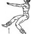 Вправи для худих гомілок і стегон