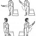 Вправи для повних стегон і гомілок