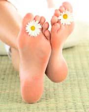 Лікування потіння ніг