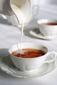 Чай з молоком для схуднення