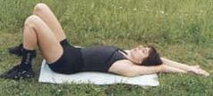 Комплекс вправ № 2 для м'язів верхньої частини черевного преса